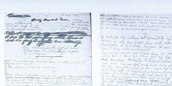image: Har oppdaget hemmelige sider i Anne Franks dagbok. De har et pikant innhold