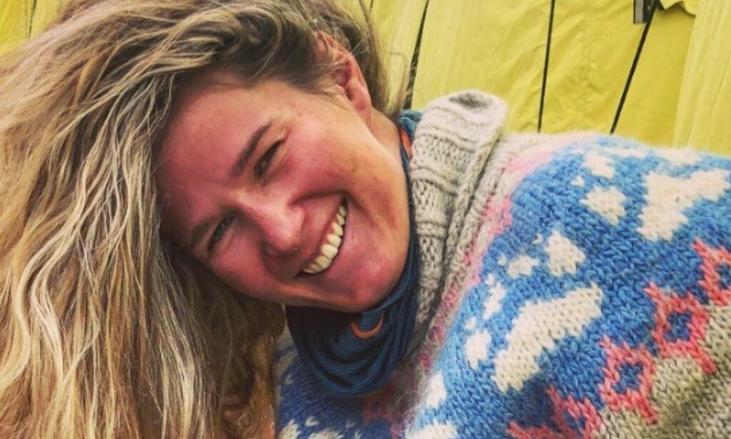 image: Moa (25) trosset sykdom og ble yngste norske kvinne på Everest: - Noen ganger må du ta litt risiko for å nå målet ditt