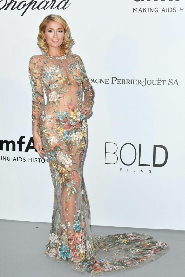 <strong>GJENNOMSIKTIG:</strong> TV-personlighet Paris Hilton (37). Foto: NTB Scanpix