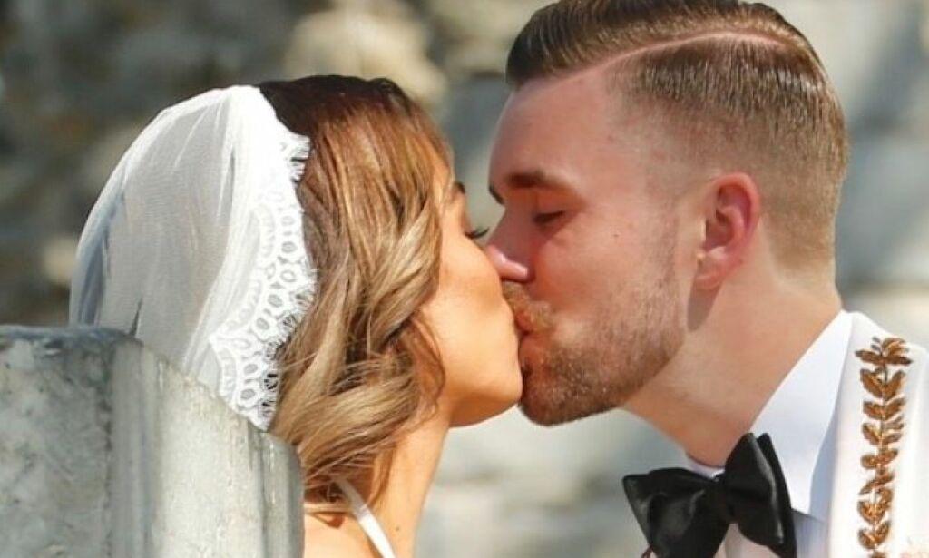 image: Nå er Stian Blipp og Jamina gift