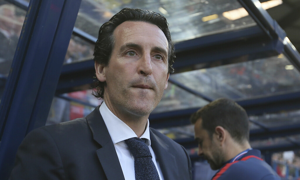 ERSTATTER WENGER: Mange vil nok bli overrasket over Arsenals nye managervalg. Unai Emery ankommer London etter to sesonger i Paris Saint-Germain. Foto: AP Photo/David Vincent