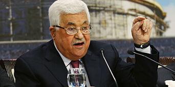 image: Abbas blir behandlet for lungebetennelse