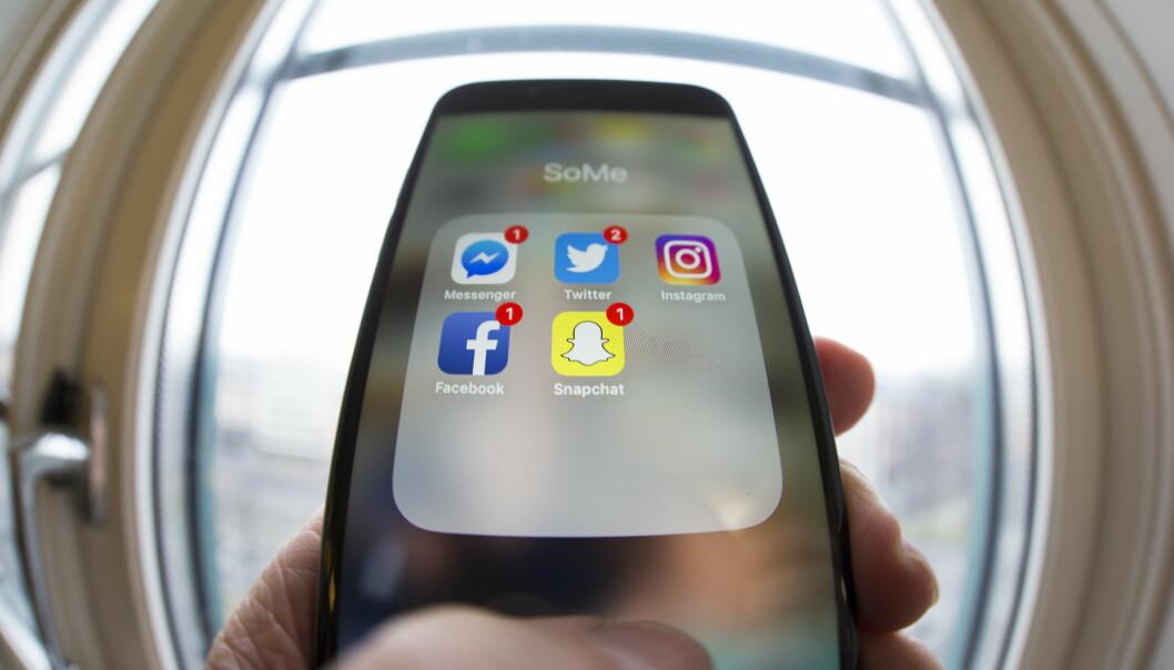 <strong>BEDRE HUKOMMELSE:</strong> Bruk av sosiale medier kan bidra til at du husker mer, ifølge forskere. Foto: Scanpix.