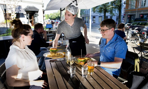 UKOMPLISERT: Grisen serverer mat som ikke er komplisert, men meget godt og gjennomtenkt.