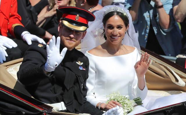 7d9d6391 GAVENEKT: Prins Harry og hertuginne Meghan har mottatt bryllupsgaver for  flere millioner kroner. Mye