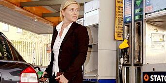 image: I strupen på Siv etter bensinprisrekord: - Ekstremt pinlig