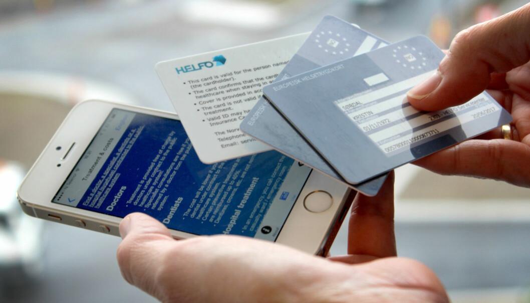 <strong>HUSK DETTE PÅ EUROPA-FERIEN:</strong> Kun med Europeisk helsetrygdkort er du garantert helsehjelp i EØS-land. Foto: OLE PETTER BAUGERØD STOKKE