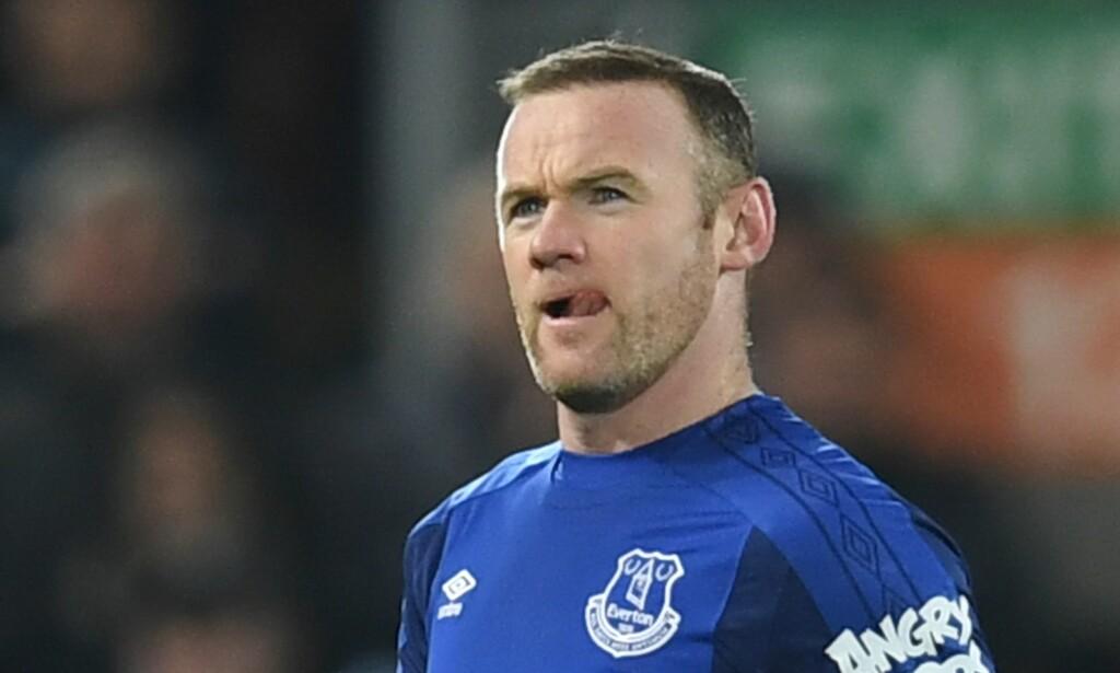 TIL MLS? Wayne Rooney. Foto: AFP PHOTO / Paul ELLIS