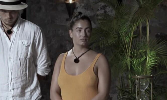 BLIKK: Dette blikket tolker Newa som en advarsel om at hun ikke burde gå over streken. Det sørget for at hun ikke fikk bli en uke til på hotellet. Foto: TV3