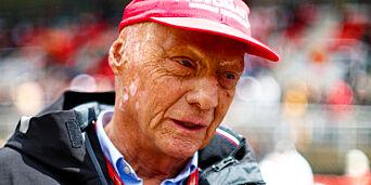 image: Niki Lauda lurte døden igjen