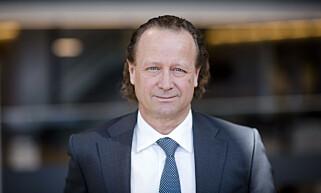 HAR SOLGT: Storebrand, her ved konserndirektør for kapitalforvaltning, Jan Erik Saugestad, har solgt seg ut av RWE. Foto: Storebrand