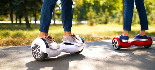 Her er reglene for kjøring med hoverboard, Segway og liknende