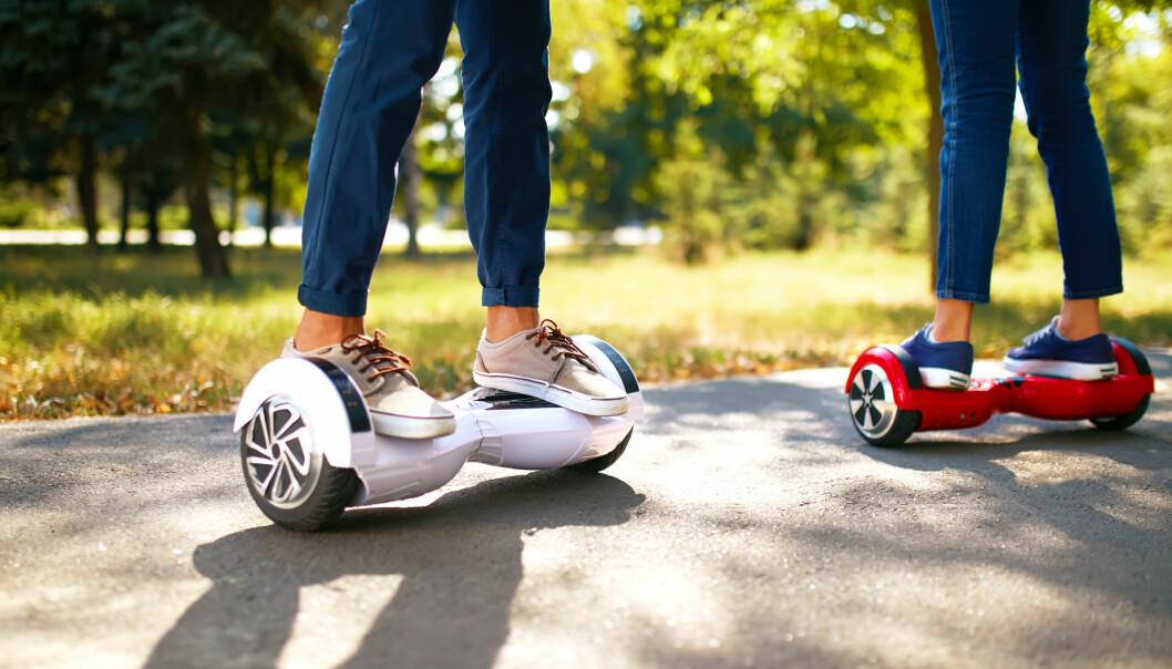 Hoverboard:Disse reglene må du kunne