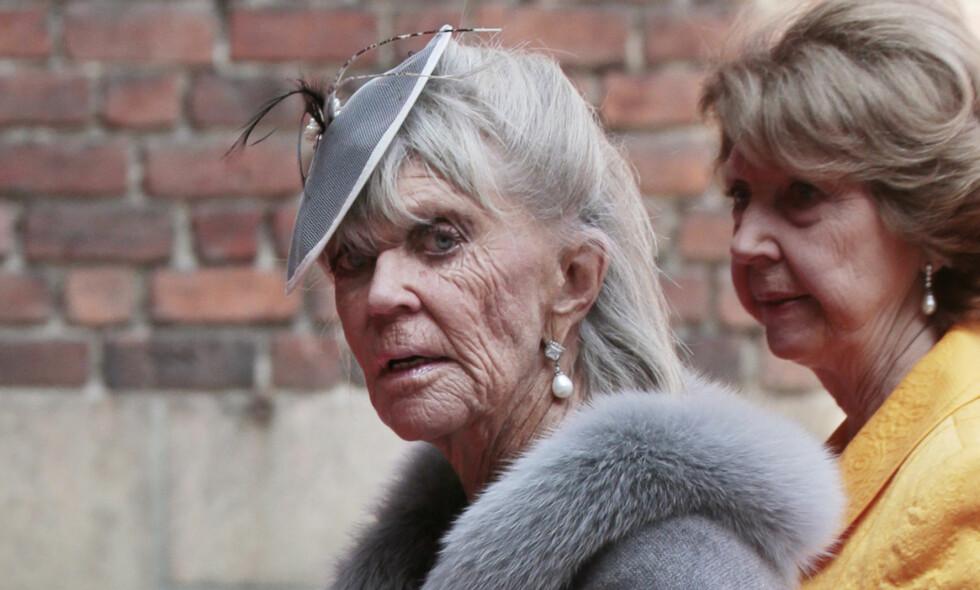 AVBUD: Prinsesse Birgitta har meldt avbud i venninnen Lill-Babs begravelse. Uken før er hun i Sverige under prinsesse Adrienne sin dåp. Foto: NTB Scanpix