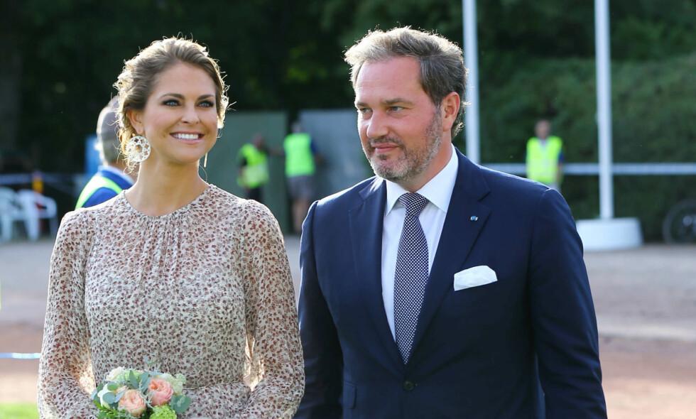 <p>FLYTTER: Prinsesse Madeleine og Chris O'Neill flytter fra luksusleiligheten etter familieforøkelsen. Foto: NTB scanpix</p>