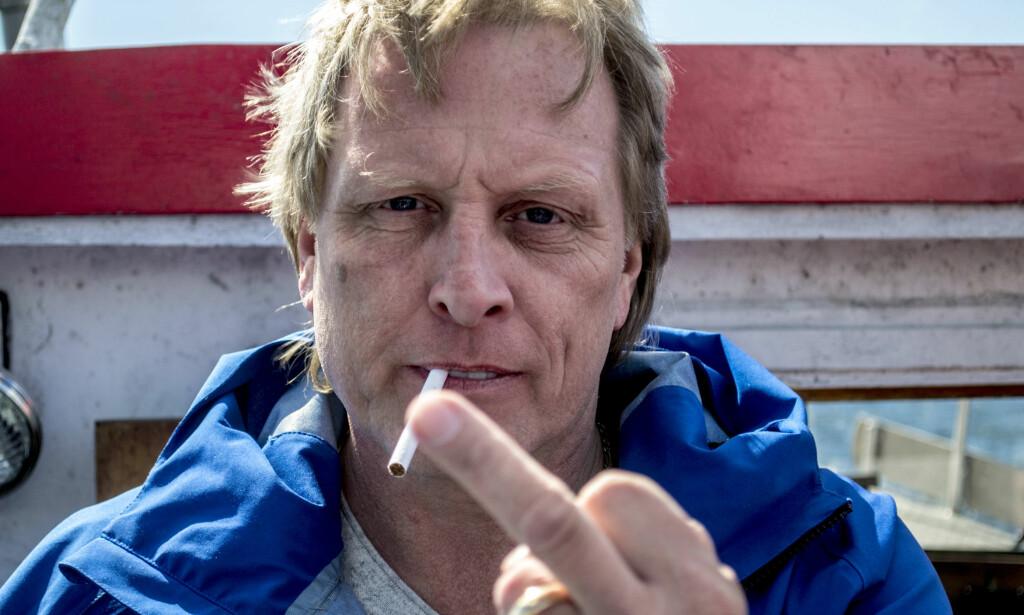 TILSTO: Onsdag tilsto Sigurd Hansen, bedre kjent som Sig Hansen, etter at han hadde blitt anklaget for å ha spyttet på en Uber-sjåfør og slått bulk i bilen hans. Foto: Ørjan Rydland / Dagbladet