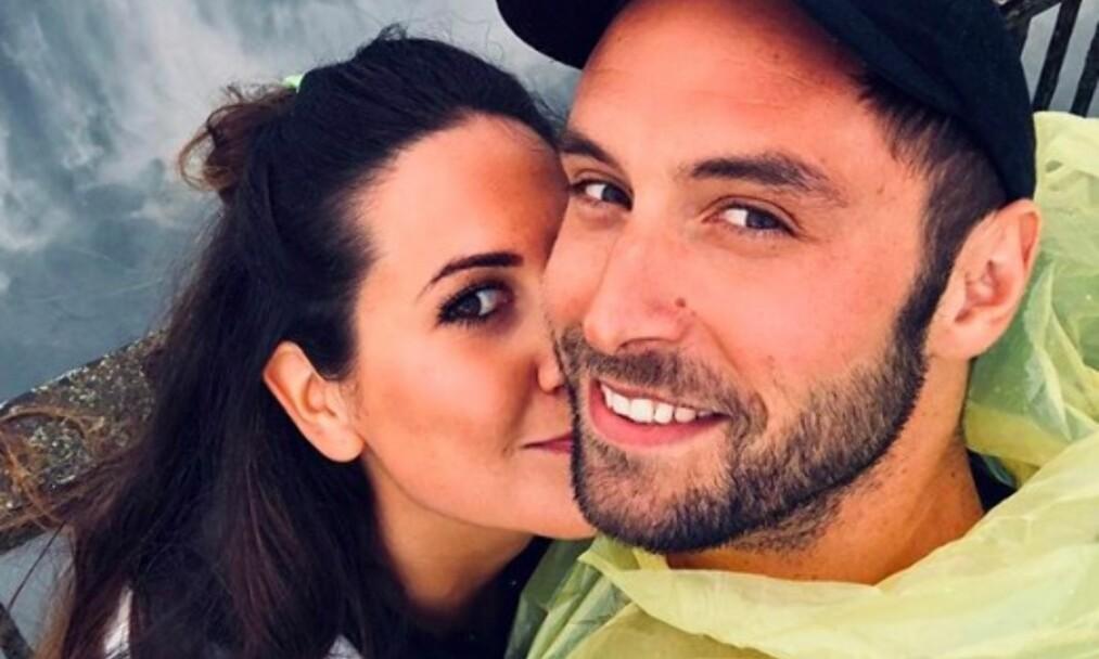BABYLYKKE: Ni måneder etter forlovelsen har Måns Zelmerlöw og Ciara Janson blitt foreldre. Foto: Skjermdump Instagram/Måns Zelmerlöw