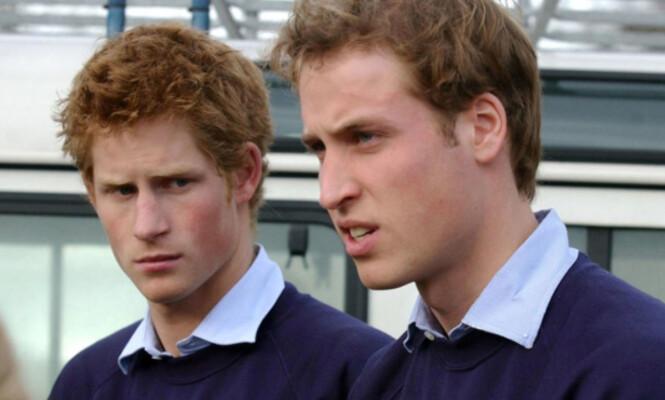 <strong>FORSKJELLIGE:</strong> I oppveksten var William den ordentlige, mens Harry var den rampete. Foto: NTB Scanpix