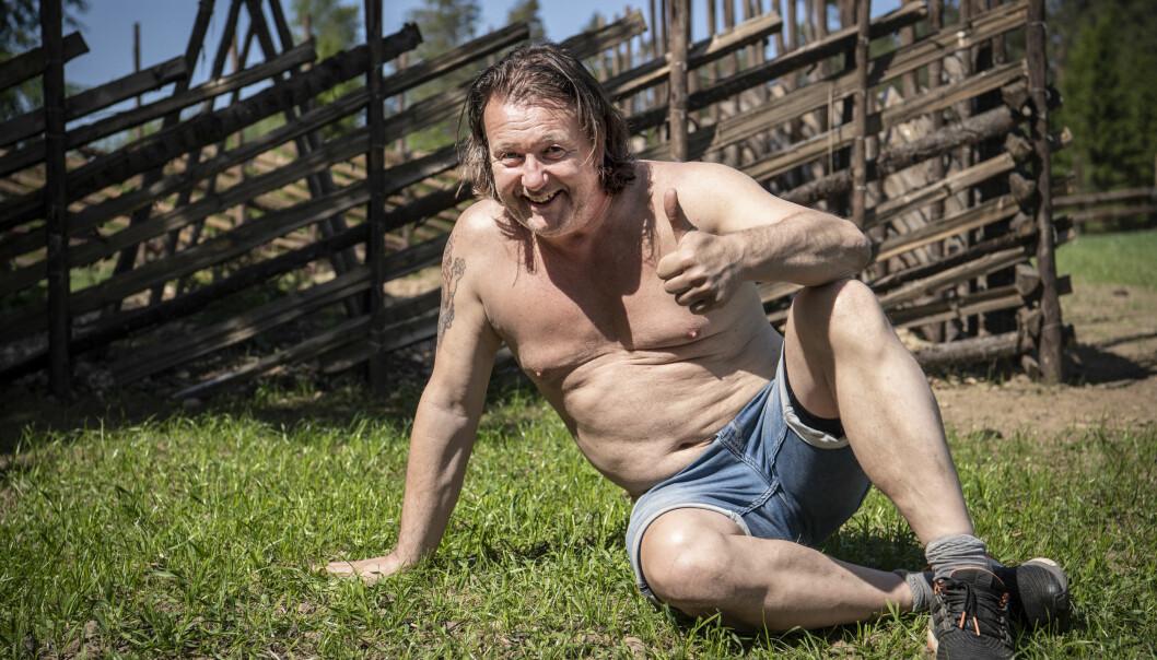 <strong>REALITY-KRASJ:</strong> Svein Østvik deltar gjerne i den kommende sesongen av «Charterfeber», programmet han ble kjent gjennom, men vet ikke om tida strekker til. De neste ukene er han nemlig isolert i «Farmen»-universet. Foto: Lars Eivind Bones / Dagbladet