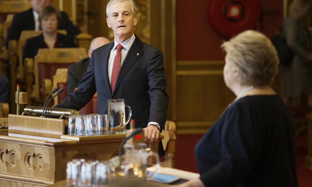 AVVISES: Stortinget kommer i dag trolig til å avvise Arbeiderpartiets forslag om å fase ut kommersielle aktører fra norsk barnevern.   Foto: Henning Lillegård
