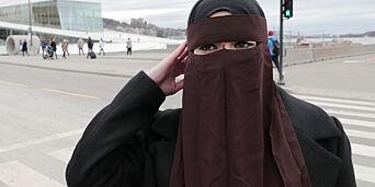 image: Flertall for nasjonalt forbud mot burka og niqab i skolen