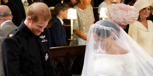 image: Begynte å fnise da ekteskapsløftene ble lest opp. Nå avslører venninne hvorfor