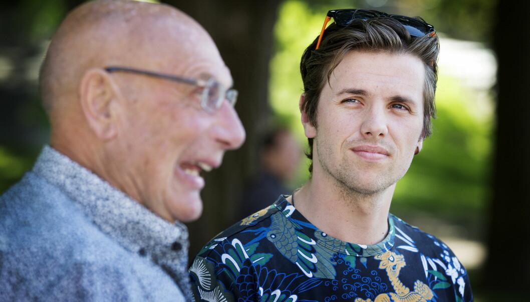 KROPPEN SA STOPP: Både Samuel Massie og bestefaren Arne Ulvolden ble svært syke tidligere i sommer. Nå kommer førstnevnte med en helseoppdatering. Foto: Henning Lillegård / Dagbladet