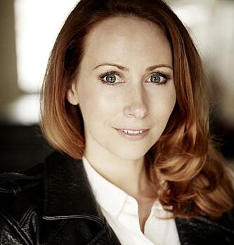 JOURNALIST: Jorun Sofie Fallmo Aartun har i flere år jobbet som reporter innen feltene mote og økonomi. Foto: Aschehoug