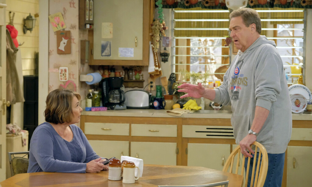 STOPPES: Roseanne Barr har fått sparken fra TV-kanalen. Det betyr at også TV-serien hennes «Roseanne» stoppes. Foto: NTB scanpix