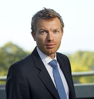 ORDKNAPP: Thomas Sevang i Oljefondet. Foto: NBIM