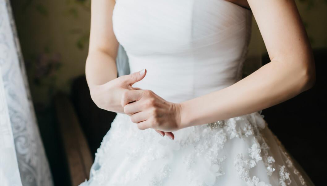 BRYLLUP: Å bli nervøs før bryllupet er veldig vanlig. FOTO: NTB Scanpix