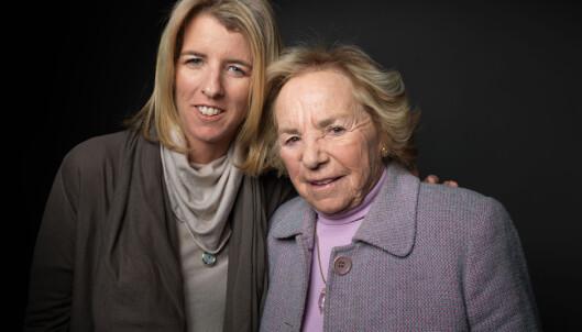 MOR OG DATTER: I 2012 lagde filmskaper Rory Kennedy en dokumentar om sin mor Ethel Kennedy. FOTO: NTB Scanpix