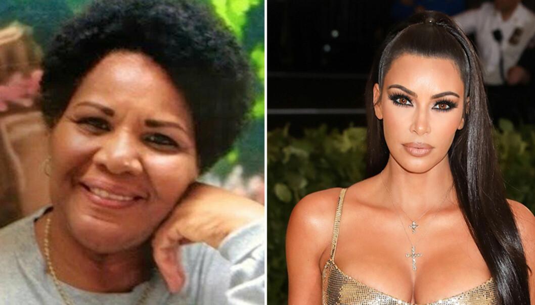 KAN REDDES AV KIM: Onsdag møtte realitystjernen Kim Kardashian Donald Trump for å diskutere saken om narkotikadømte Alice Marie Johnson, som soner en fengselsstraff på livstid. Foto: Change.org, NTB Scanpix