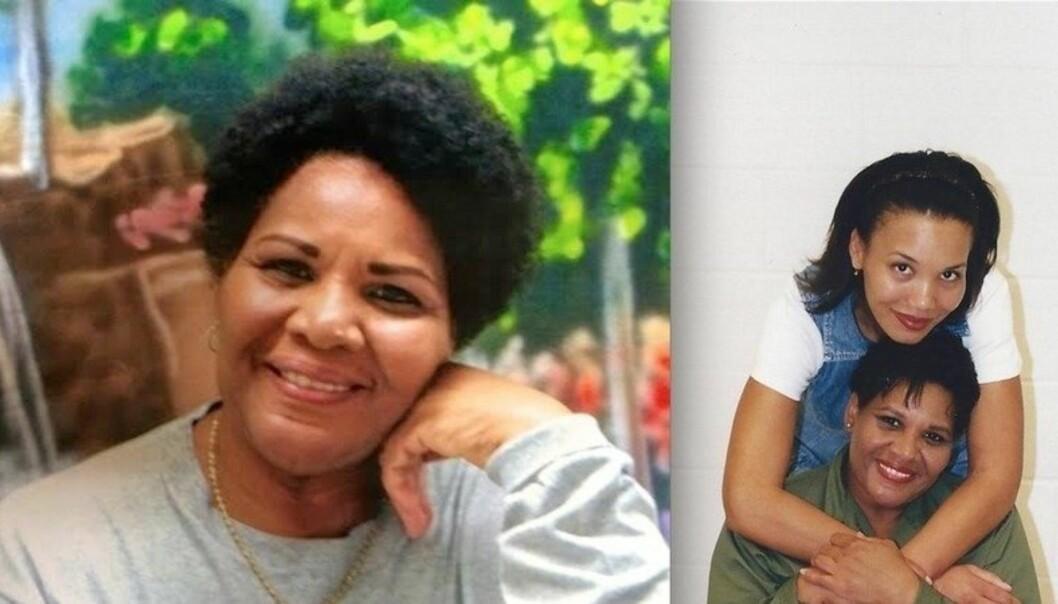 STØTTER MOREN: Datteren til narkotikadømte Alice Marie Johnson har laget en underskriftskampansje for at moren ikke skal tilbringe resten av sitt liv i fengsel. Foto: Change.org