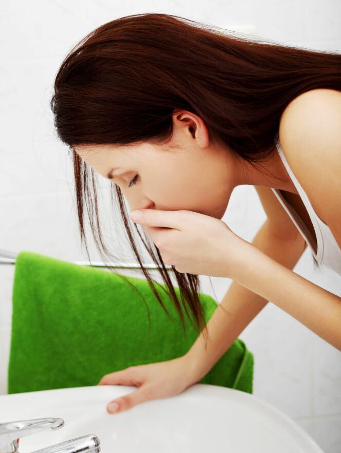GRAVIDITETSKVALME: Enkelte kvinner opplever kvamle gjennom hele svangerskapet. Foto: Scapix
