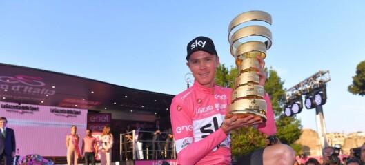 Dopingekspert: - At Froome får beholde Giro-seieren, er langt fra gitt
