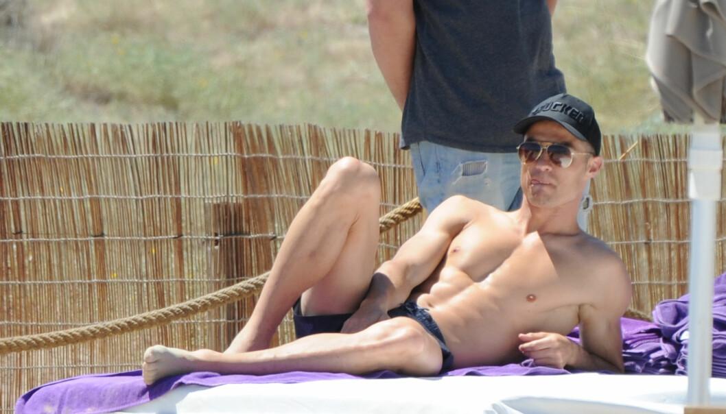 VELTRENT: Det er liten tvil om at 33-åringen liker å holde seg i form. Foto: Splash News / NTB Scanpix