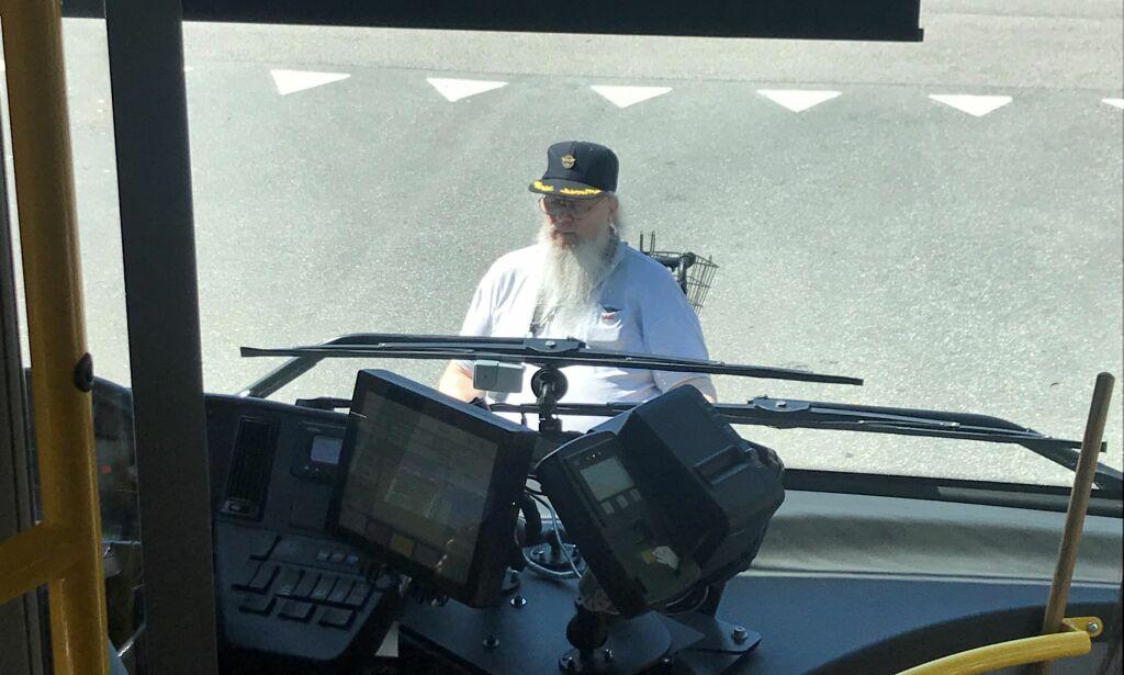 image: Ole (78) fikk ikke komme om bord i bussen med rullestol