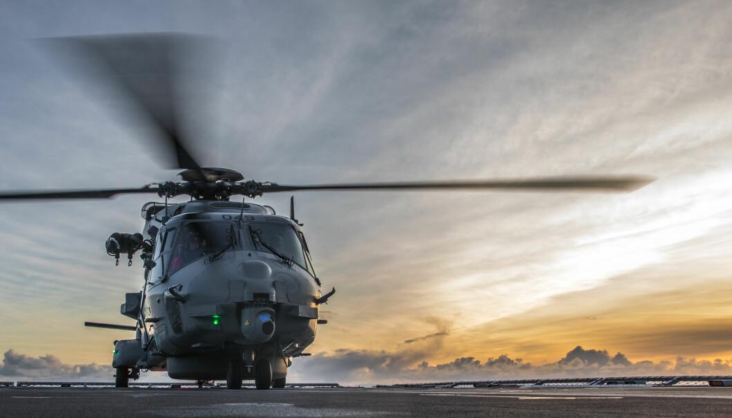 <strong>SVINDYRT:</strong> NH90-anskaffelsen koster oss milliarder. Foreløpig for helikoptre vi ikke har eller får brukt som vi skal. Foto: Marius Vågenes Villanger / Forsvaret