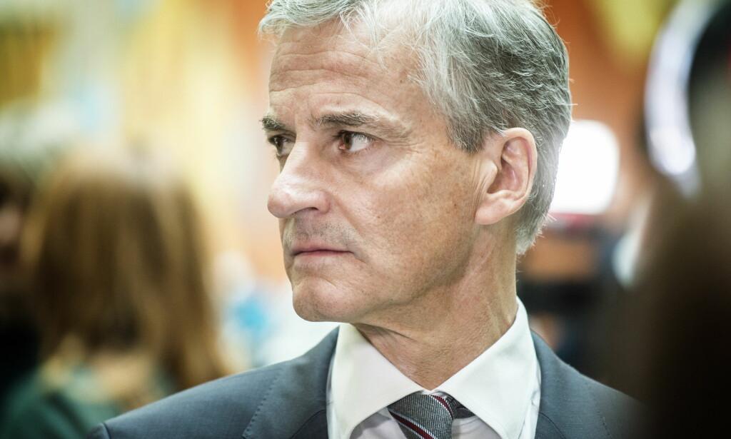 METOO-SAKER PÅ BORDET: Ap-leder Jonas Gahr Støre har måttet hanskes med flere metoo-saker det siste halve året.  Foto: Hans Arne Vedlog / Dagbladet