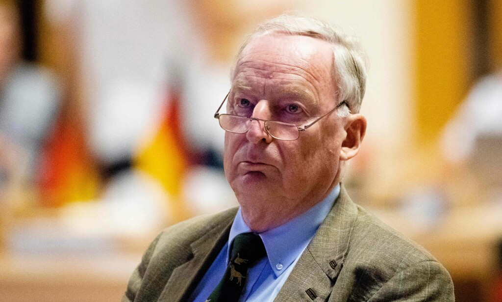NAZI-KRANGEL: Lederen for det høyrepopulistiske partiet Alternativ for Tyskland (AfD) blir anklaget for å forsøke å omskrive Tysklands nazifortid. Foto: AFP PHOTO / dpa / Alexander Prautzsch / Germany OUT