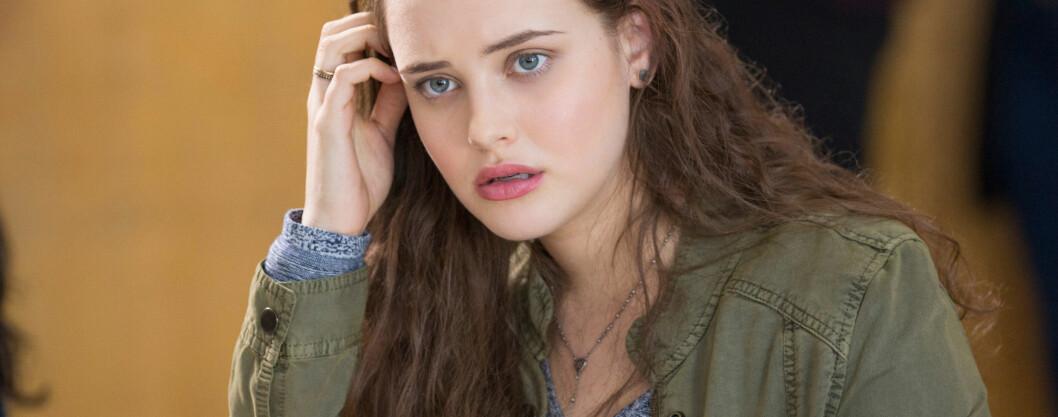 FIKK ROLLEN: Kathrine Langford portretterer Hannah Baker i «13 Reasons Why» – men en av seriens andre stjerner dro også på audition for den mye omtalte karakteren. FOTO: Scanpix
