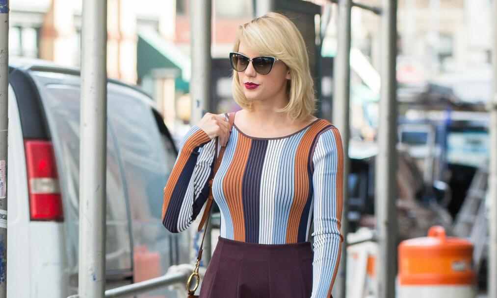LEI AV INNTRENGERE: Taylor Swift skal nå bygge på muren utenfor hjemmet sitt i Beverly Hills med ytterligere fire meter. Foto: NTB Scanpix
