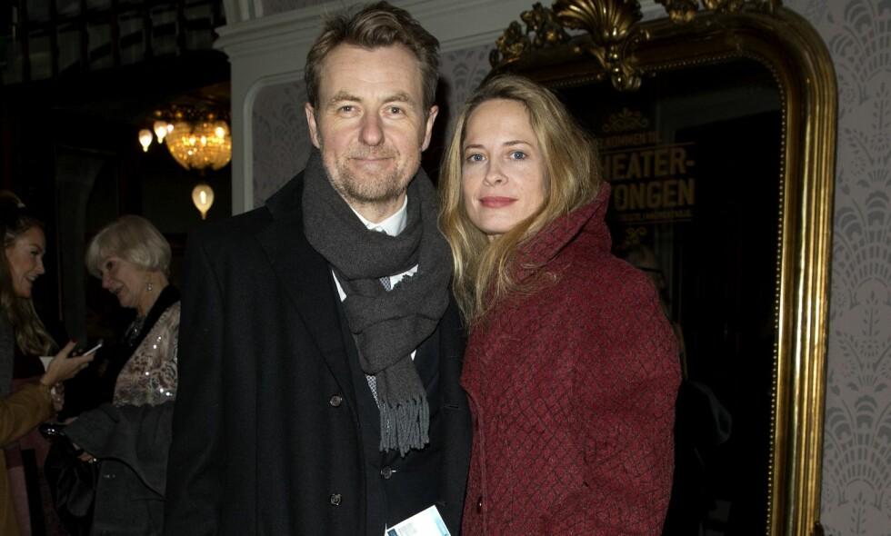 BLIR FORELDRE IGJEN: Fredrik Skavlan og Maria Bonnevie venter sitt tredje barn sammen. Foto: Andreas Fadum