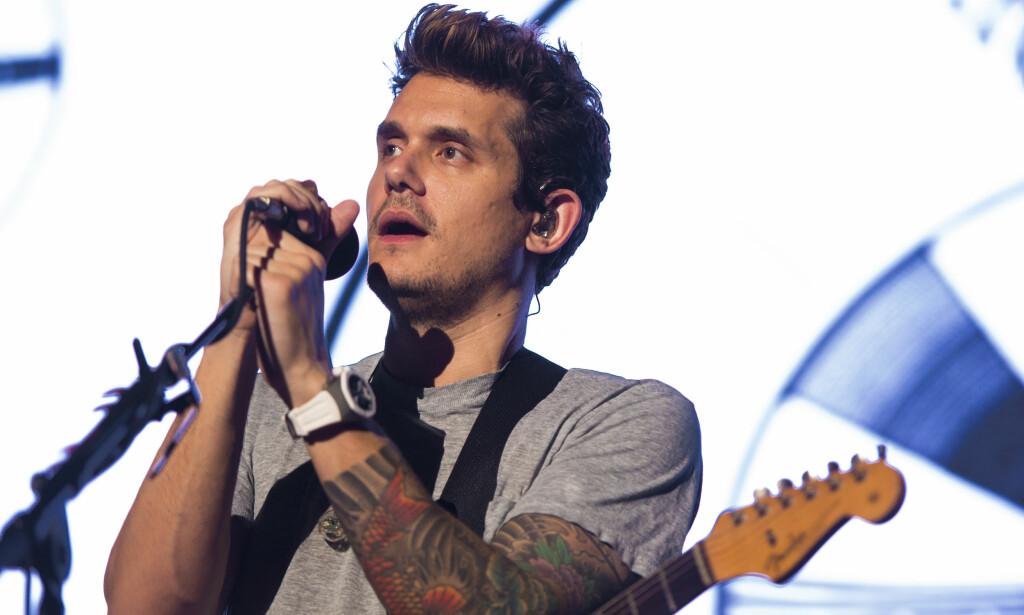 DÅRLIG RYKTE: Artist John Mayer har datet en lang rekke kjendiskvinner i Hollywood. Ifølge ham selv holder imidlertid de fleste seg unna ham. Foto: NTB Scanpix
