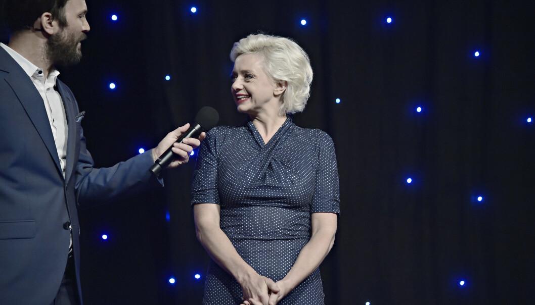 SPENT: Hilde Louise Asbjørnsen er kjent som både jazzsanger, låtskriver, revyartist og tekstforfatter. Nå er hun klar for «Stjernekamp»-scenen. Foto: Hans Arne Vedlog / Dagbladet