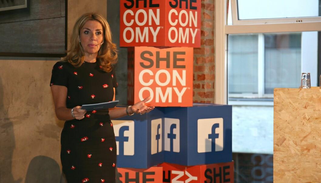 KVINNELEDELSE: Nicola Mendelsohn startet dagen i Oslo med å snakke til et nettverk av kvinnelige ledere. FOTO: Ida Øverland Eriksen