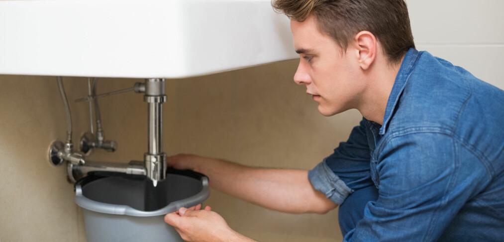 Dette kan sikre deg mot vannlekkasjer hjemme
