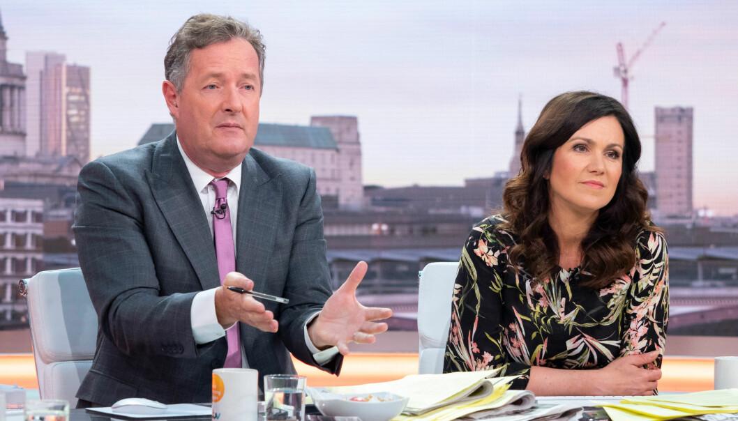 KRITISERER: Morgen-tv-programleder Piers Morgan likte ikke «Love Island». Foto: NTB Scanpix