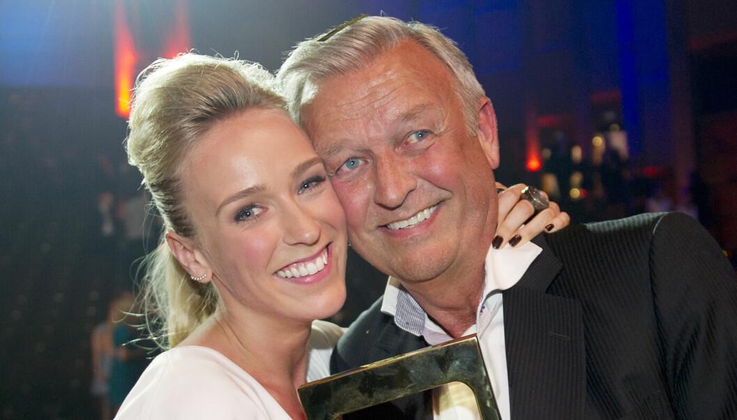 KATARINA FLATLAND BRYLLUP: Lørdag 30. juni gifter Katarina Flatland seg i Danmark - og det er selvfølgelig pappa Hallvard Flatland som skal føre henne opp kirkegulvet. FOTO: NTB Scanpix